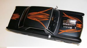pinstriped model car 3 by JThomastheartist13