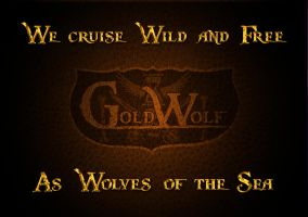 Goldwolf's Logo poster by James-B-Roger