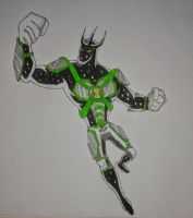 Alien X Ben 10000 by Kamran10000