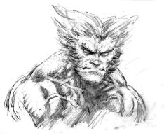 Logan Sketch by arjorda