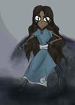 Katara of the Water Tribe by theroguesigil