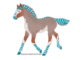 A1879 Foal Design by Nightmare-Curse