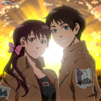 Eren and Abigail by wooyoona