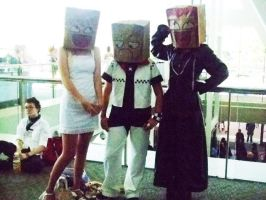 bag heads by not-so-cute