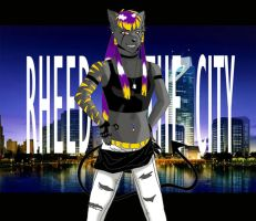 Rheed on the city by ClowRheed