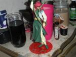 Kurama action figure. by BlueRosePetalsQueen