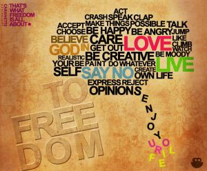 What Freedom Means by caranette