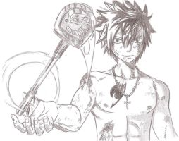 Gray Fullbuster - Fairy Tail by Chocogirl3