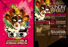 Stel + Kosmas Epsilon Flyer by SeBDeSiGN