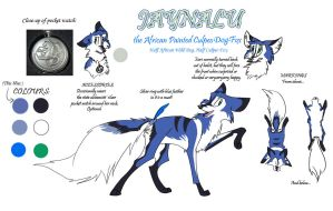 Jaynalu Reference Sheet v. 3.1 by KatainaWulf