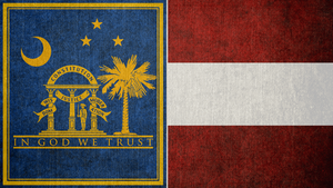 FALLOUT: Flag of the Southeast Commonwealth by okiir