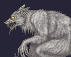 White Werewolf by Zechira