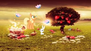 MLP: The Grove of Temptation by colonelchris