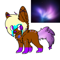 Galaxy Pup Adopt #1: 100 Points by AussieSpots