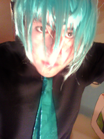 Mikuo cosplay love is  war by clampguy