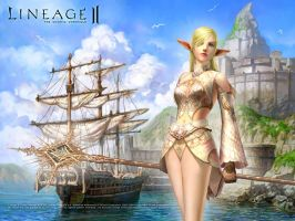 Lineage 2 chronicle 4 by xHeroess