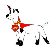 The new Dog of Steel by MammalMage