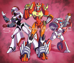 Primus's Angels by Silent-Mime