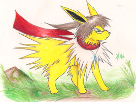 Jolteon Kalz by Dragon-Wish