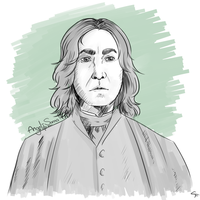 Severus Snape by Angel-soma