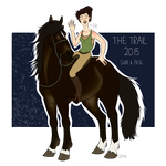 My Trail 2015 - The Team by Violettsoap