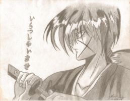 another kenshin by RageFish21