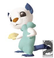 Oshawott by Japandragon