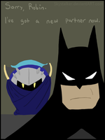 Batman's new partner by Skystalker
