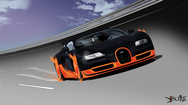 Veyron SS Wallpaper by Neoindigo1