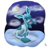 Glaceon by oniamy