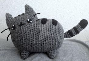 Pusheen the cat by telshira