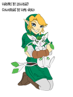 Link and Verios :coloured: by MusingsOfOrion