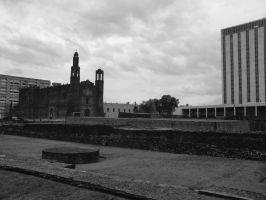 Landscape from Tlatelolco by ibolzurikato