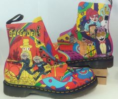 Superjail Doc Martens Complete by GamerGirl84244