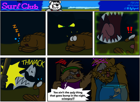 The Surf Club Comic 242 by BluebottleFlyer