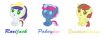 MLP Shipping Adoptables #2 :Closed: by nancy97