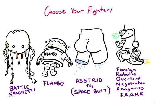 Choose Your Fighter R1-3 by MatthewJWills