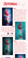 Tutorial #6 'Little Mermaid' by JessxFlyller