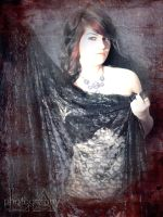 Lace and Leather by demons-I-weave