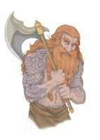 Gimli - Colored Picture by KikiMcCloud