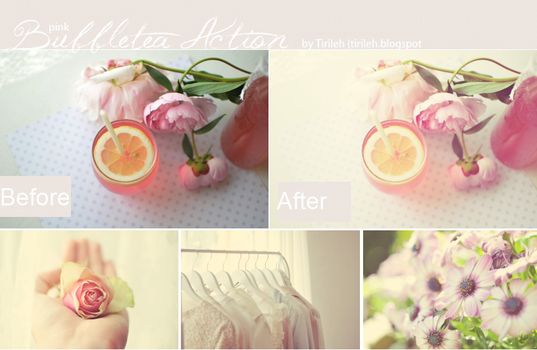 Photoshop Actions, Free. #2 by Tirileh