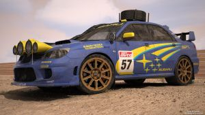 Subaru WRXSti rally edition by RJamp