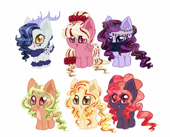 [Open] Pony Adopts by CitrusSkittles