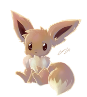 Eevee by caninelove