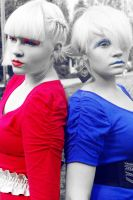 Red and Blue by Mobicca