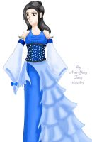 My dress for a competition by MaeMaeTwin