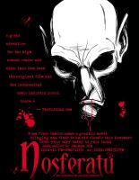 Nosferatu Flyer Color by MyDyingRose