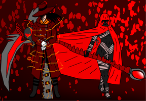 The Faunas Hunter And Dark Rose by Cyclone786