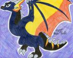DragonVale- Meteor Dragon by FlygonPirate