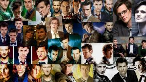 The Doctors of Doctor Who by spottedparr